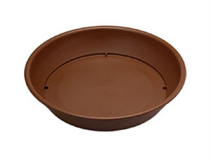 ビオラデコ受皿6号 チョコブラウン