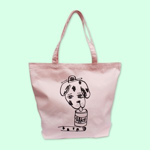 Rob Kidney × WISH LESS/'Sake Puppy' Tote bag