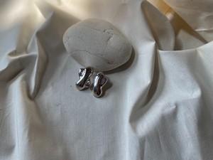 <vintage silver925>puffy design pierce