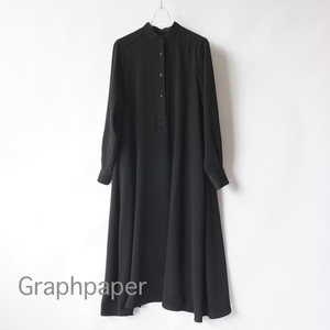 Graphpaper/グラフペーパー・ Satin Band Collar Dress