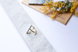 324伝統文化品美濃焼多治見タイル指輪・リング(フリーサイズ)