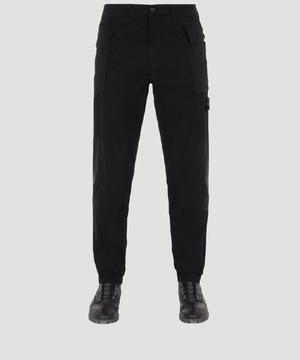 Stone Island Ripstop Cargo Pants Black 711530606