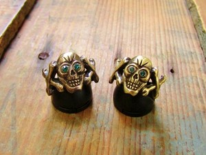 Toy Skull Ring(Brass)
