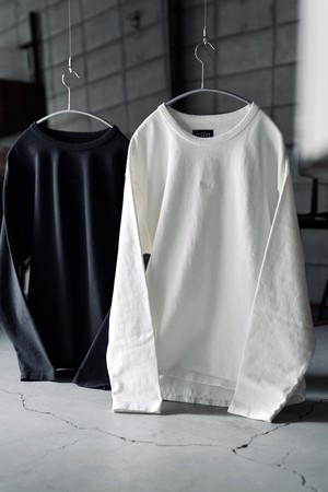 THE UNION / Sixteen Two L/S Tee   (  CHACOAL  / WHITE )