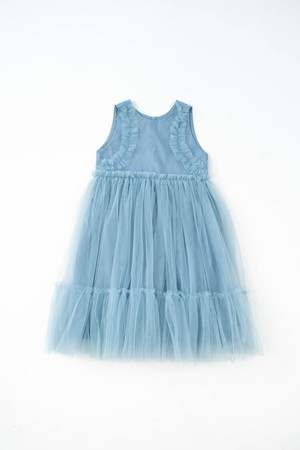 【20SS】KOKORI (ココリ)- DREAMLAND DRESS / babyblue [2y.4y.6y]ワンピース