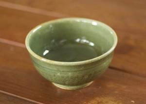 藍媚茶釉お茶碗