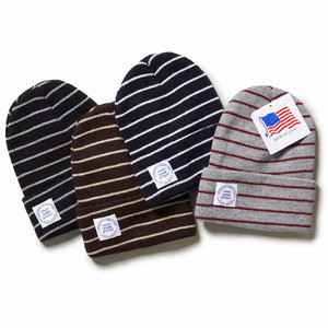 INTERBREED MEDICAL PATCHED BORDER BEANIE