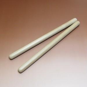 太鼓バチ朴の木 細 36cm