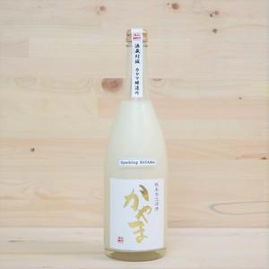 純米発泡濁酒かやま(風呂敷包み)1本