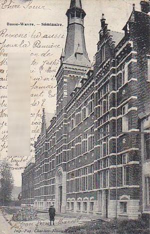 古絵葉書エンタイア「バッス=ワーヴル(ベルギー)」(1900年代初頭)