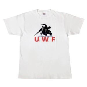 "【XXL】 U.W.F.""完全復刻""シリーズ第一弾!! 半袖Tシャツ"