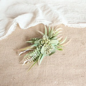 """Hair ornament for """"Cactus pink Bouquet """""""