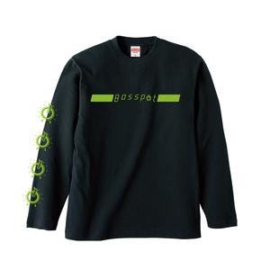 【受注販売】Basspot 長袖 Tシャツ(Black)