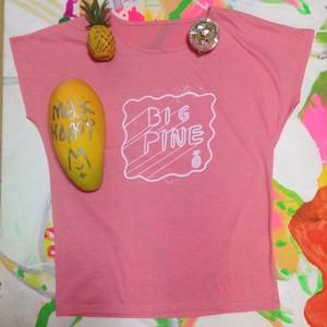 BIG PINE dolman sleeve pastel pink(lady's M)
