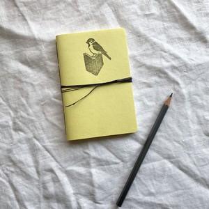 一折中綴じノート L バナナ