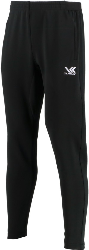 19023 Stretch Slim Fit Jersey Long Pants BLK