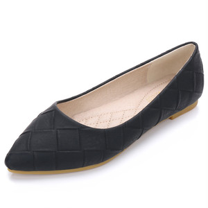 パンプス レディース フラット シューズ 黒 通勤 ぺたんこ靴 夏 秋 春 大きいサイズ 小さいサイズ 7077