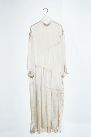 pelleq - step gather long dress