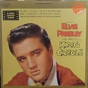 【LP】ELVIS PRESLEY/King Creole