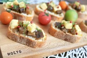 いぶりがっことチーズのオイル漬|秋田のオイル漬け専門店「Norte Carta」|経済産業大臣賞受賞
