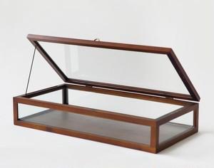 木製フレームショーケースLサイズ SI-371755