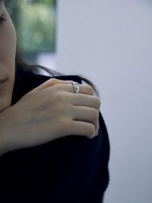 <9/20 発売>moon stone gem round p002 ring