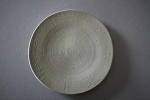 マルヤマウエア|魚々子皿6寸
