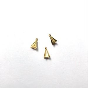 三角羽のメタルチャーム