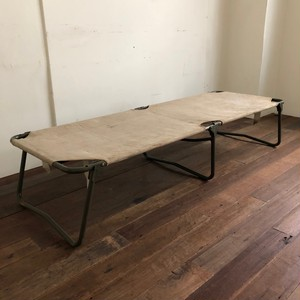 Vintage French Army Folding Bed