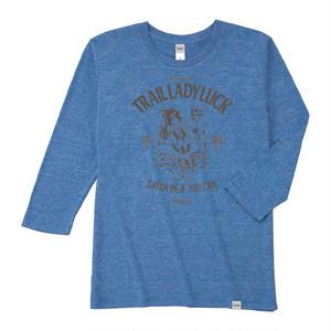 Tri Brend 3/4 Sleeve T-Shirt / TLL / Heather Blue