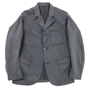 WORKERS / Lounge Jacket, Cotton Serge Grey 38size