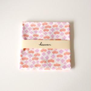 flower and butterfly てぬぐい  (ライラック&コーラル)