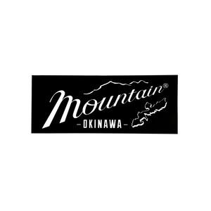 Mountain オリジナルステッカー 150✖️60 / ブラック