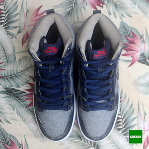 NIKE SB DUNK HIGH TRD QS REESE DENIM