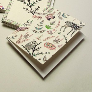 SOLDOUT Mini Card - Forest Animals