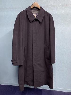 70's Burberry's Wool Balmacaan Coat (made in England)