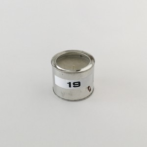 緊急時の缶入りキャンドル 19時間|Emergency Canned Candle 19(PUEBCO)
