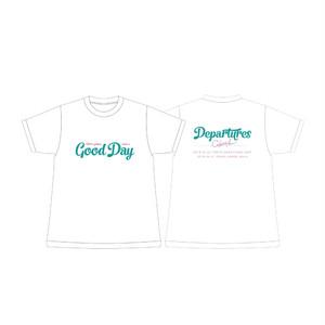 Departures LIVE オフィシャルTシャツ[WHITE]