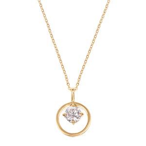 K18YGダイヤモンドネックレス 020201009462