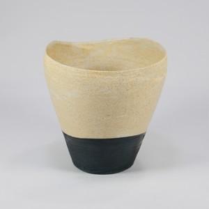 杉田真紀 フリーカップ ツートン 【陶器】2021032403