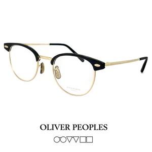 日本製 オリバーピープルズ メンズ メガネ BALLARD bkg OLIVER PEOPLES ballard ブロー サーモント クラシック 丸眼鏡 丸メガネ