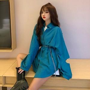 【トップス】カジュアル個性的シンプル透かし彫りファッションシャツ42258468