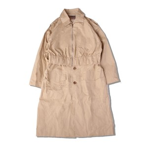 DOCKING TRENCH COAT / BEIGE