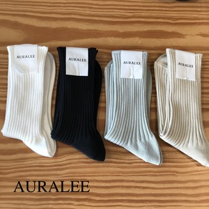 AURALEE/オーラリー ・GIZA HIGH GAUGE SOX