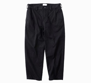 """STILL BY HAND """"Tuck Tapered Chino Trousers"""""""