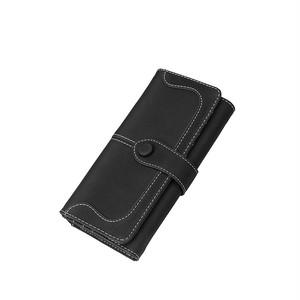 Wallet Long Purse Zipper Multi Card Clutch Bag Wallet Pocket ロング 財布 パスケース (RO99-5609904)