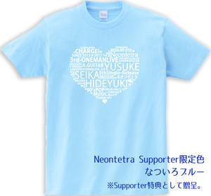 【Tシャツ】限定色:サポーターセット:缶バッジ・DVDセット
