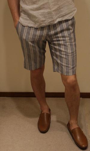 GERMANO Linen Cotton Shorts