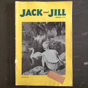 JACK and JILL 1951 AUGUST  ヴィンテージマガジン キッズ