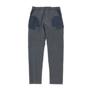 STRECHED TWILL TAPERED TECH  PANTS - GRAY